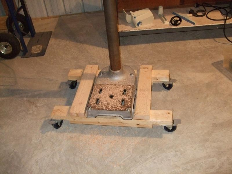 Drill Press Base 1
