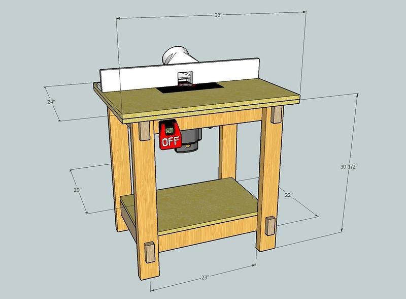 Router Table(32 Inch)