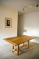 Cherry & Maple Dining Room Table