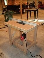 Router Table Complete 2