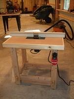 Router Table Complete 3